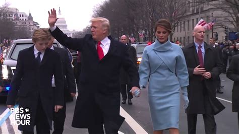donald j trump inauguration day white house magnet president donald trump walks parade route on inauguration