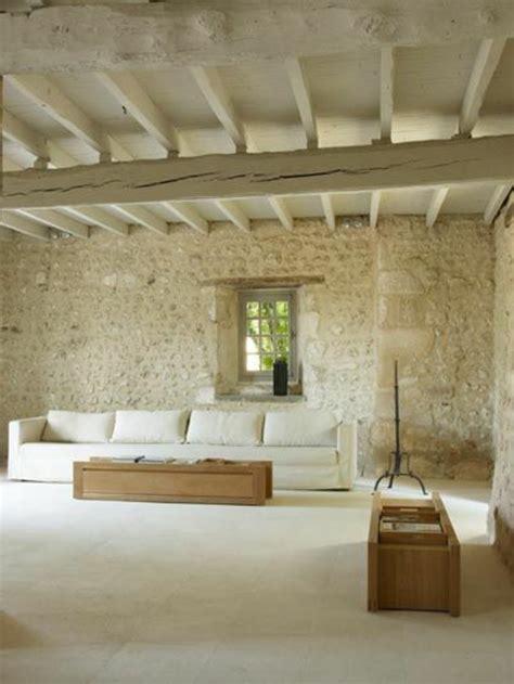 pierre de parement interieur le mur en pierre apparente en 57 photos