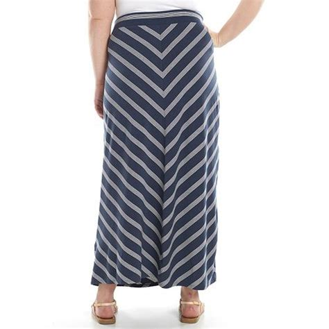 Maxy Stripe sonoma style maxy jersey striped skirt regular