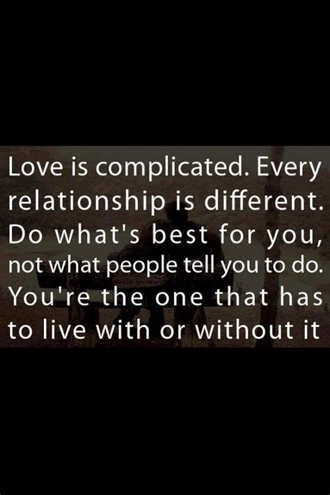 Relationship Quotes Quotes About Complicated Relationships Quotesgram