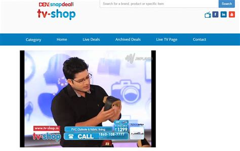 Tv On by Den Snapdeal Tv Shopping Channel Goes Live Updated