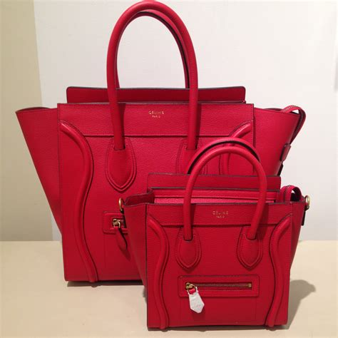 celine nano luggage tote bag reference guide spotted fashion