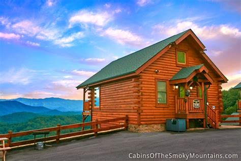Cabins Of Pigeon Forge Pigeon Forge Cabin Mountain Top View From 165 00