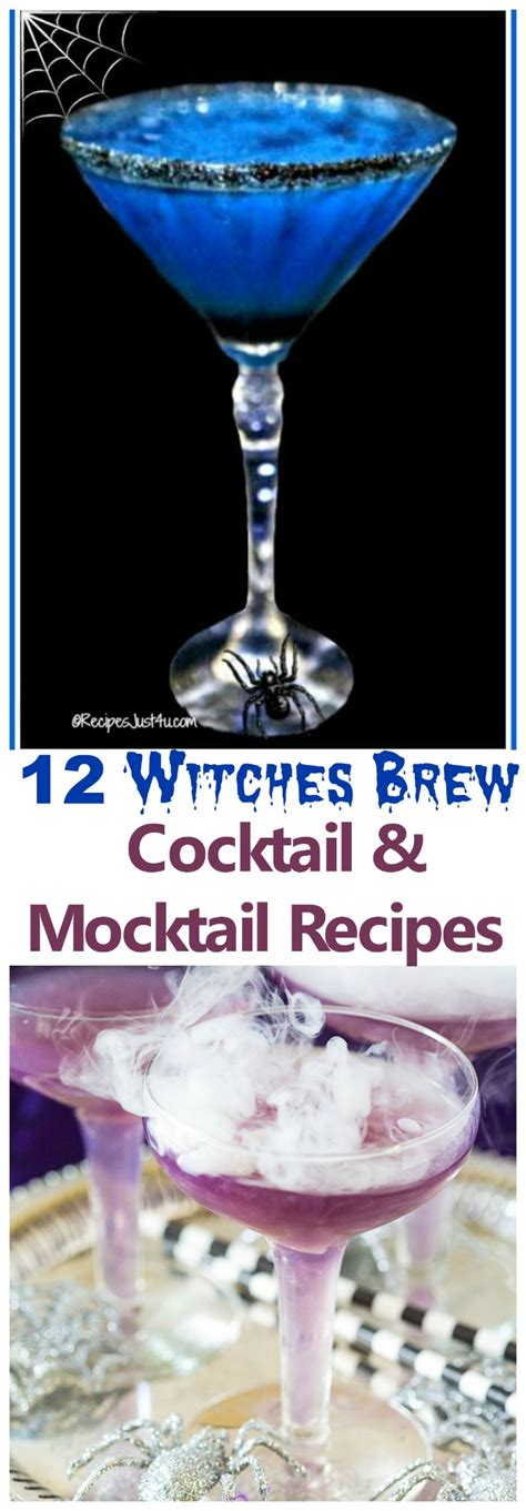 witch brew cocktails halloween witches brew recipes