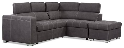 Drake 3 Piece Faux Suede Right Facing Sectional With Sofa Faux Suede Sectional Sofa