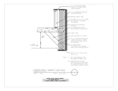 curtain wall design pdf usg design studio 08 44 00 113 curtain wall smoke gas