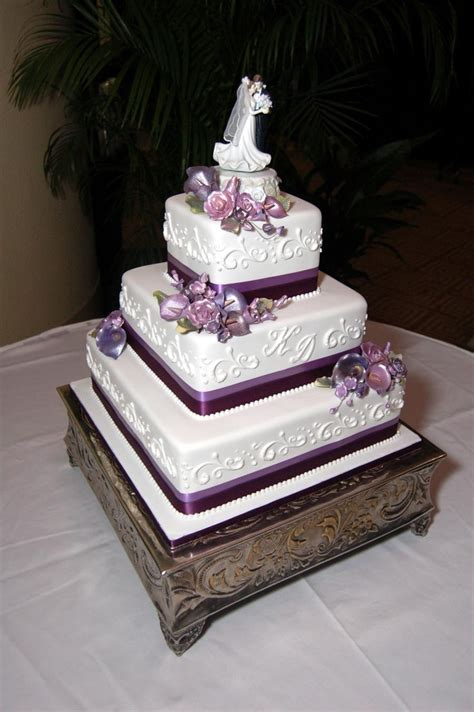 Simple But 3 Tier Wedding Cake For And Pin By Marissa Salvo On Wedding