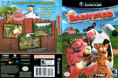 emuparadise game ps2 barnyard iso