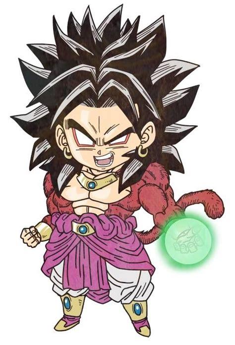 imagenes de goku kawai broly ssj4 dragon ball pinterest dragon ball dbz