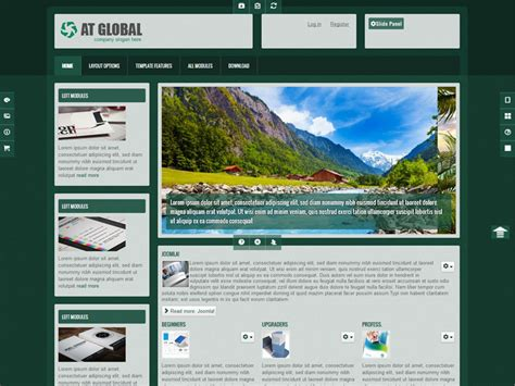 free joomla business template at global free joomla business template