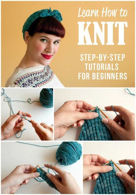 how to knit for absolute beginners best 25 learn how to knit ideas on how to