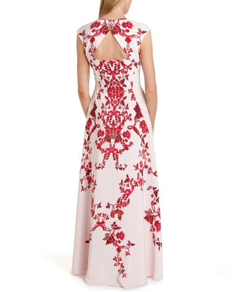 Maxi Dress Maxi Shanghai ted baker nelum china maxi dress lyst