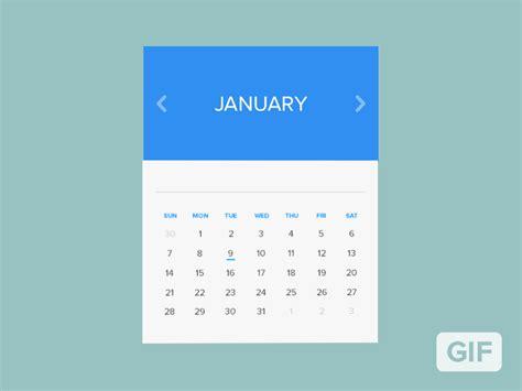 Calendar Gif Calendar Window Rebound Animated By Mikael Edwards