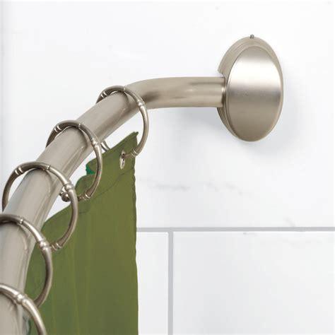 aluminum shower curtain rod com zenna home e35603hb01 neverrust aluminum