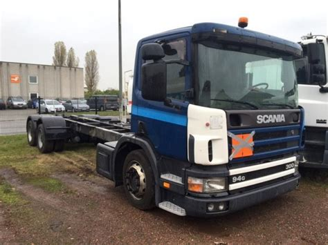 scania 94 g 300 pk cab chassis truck from belgium for sale