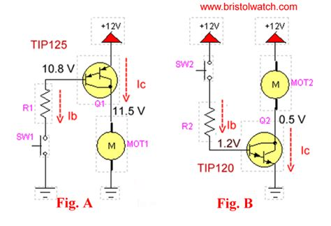 transistor darlington circuit tutorial tip120 tip125 power darlington transistors