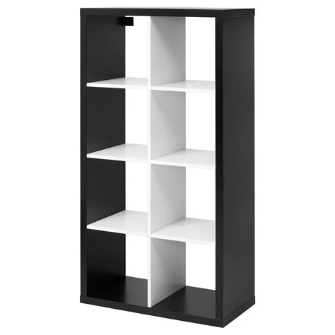 ikea cube shelving ikea kallax 8 cube storage bookcase rectangle shelving unit various colours ebay