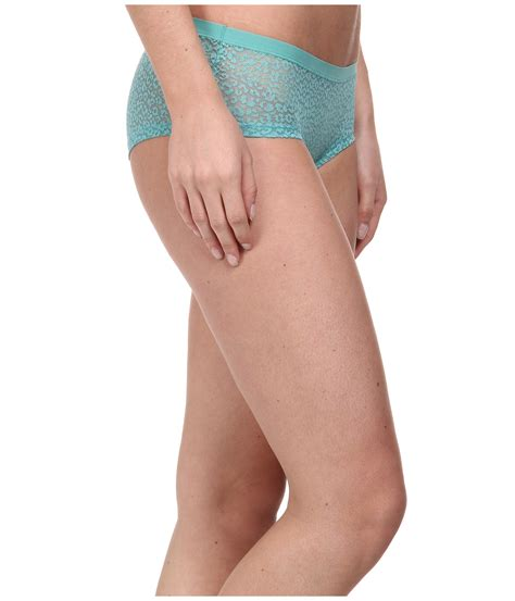 lyst emporio armani lace all lace cheeky in green