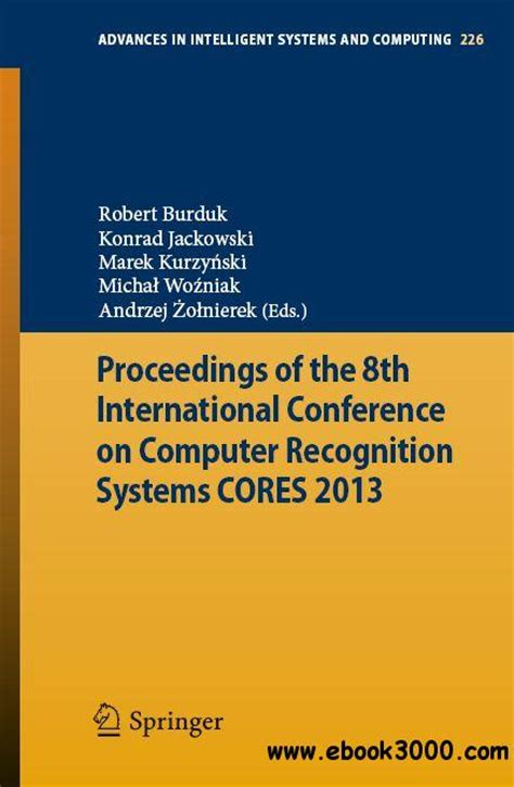 international conference on pattern recognition and image analysis proceedings of the 8th international conference on