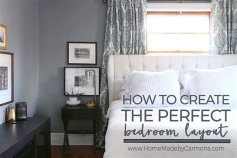 bedroom layout tips how to plan the perfect bedroom layout home made by carmona