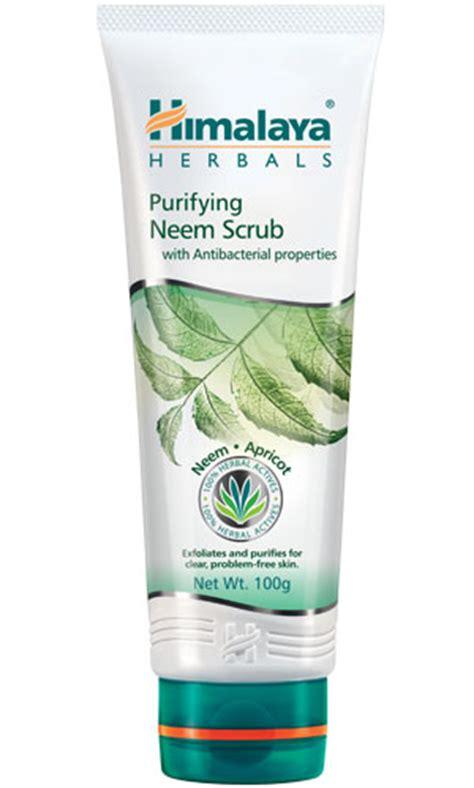 Himalaya Neem Scrub purifying neem scrub from himalaya herbal healthcare