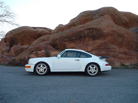 1991 porsche 911 turbo rwb 1991 911 turbo 52k miles gp white black sale pending