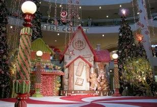 gingerbread commercial mall decorations outdoor decorations land theme living on a dime