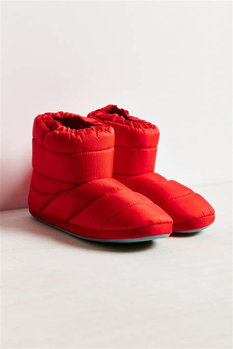 slippers outfitters outfitters bootie slipper in lyst