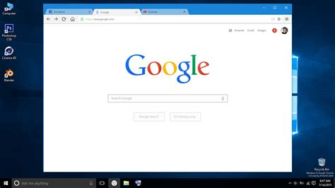 theme windows 10 chrome google chrome with windows 10 ui design concept by