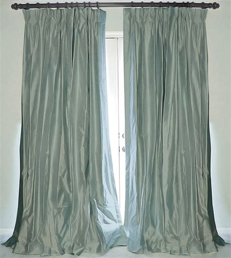 silk drape silk dupioni drapes traditional curtains new orleans