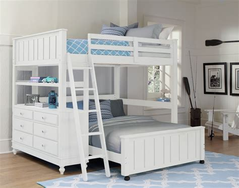 white loft bed for ne lake house high loft bed with bed white