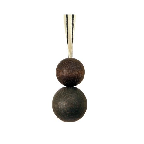 double wooden ball blind pull cocoa  ribbon
