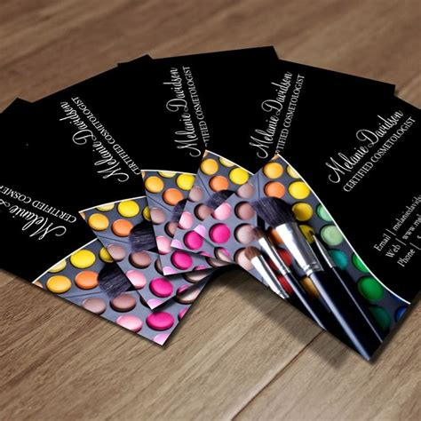 card products 1000 images about makeup artist business cards on
