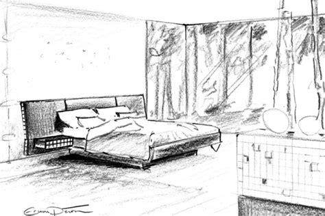 dessin chambre erwan peron turrini