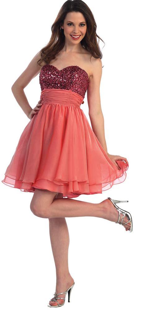 imagenes de vestidos de novia para jovenes vestidos de graduaci 243 n cortos para adolescentes