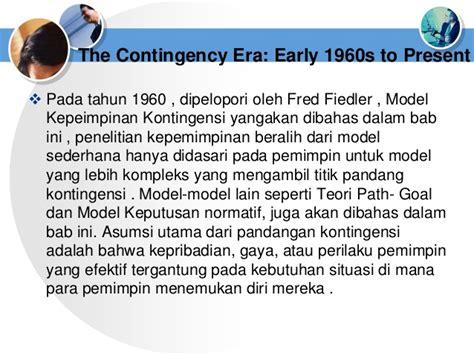 dari awal early theory the foundations of modern leadership teori