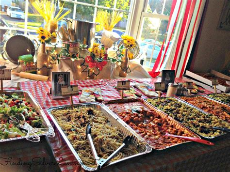 a themed max s italian themed birthday party finding silver linings