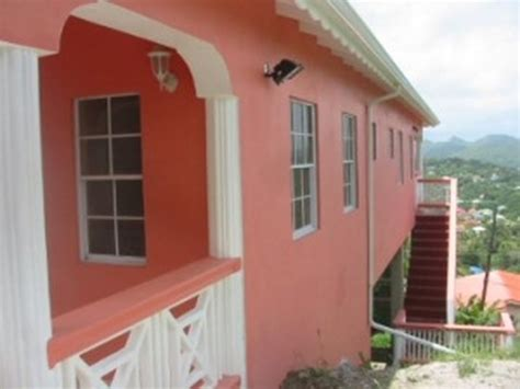 Outside View Of The House St Lucia S Dream Houses For
