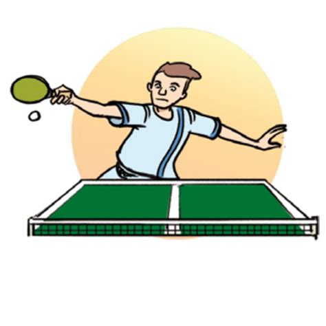 how to play table tennis sport cglearn it