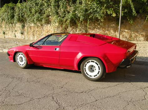 for sale lamborghini jalpa 350 lhd for sale 1986