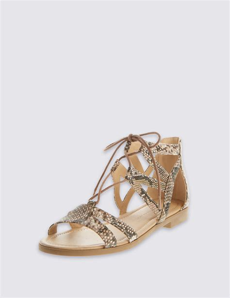Marks Spencers Sale Wedges by Marks And Spencer Ghillie Lace Up Sandals Mouse