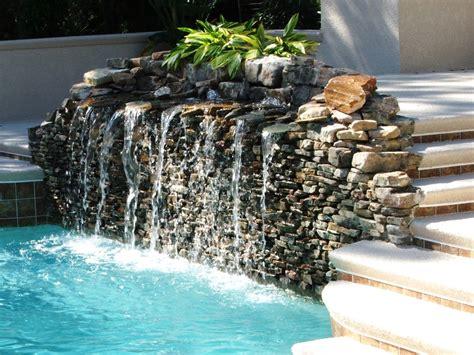 pool fountain ideas pool water fountain design ideas small swimming pool