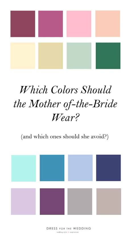 what color should of the wear what should the of the wear dress for the