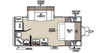 Rockwood Camper Floor Plans by 2016 Forest River Rockwood Mini Lite Travel Trailer