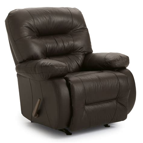 Best Leather Recliners by Best Home Furnishings Maddox Genuine Leather Rocker