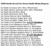 Honda Accord Questions  What Is The Wire Color Code For A