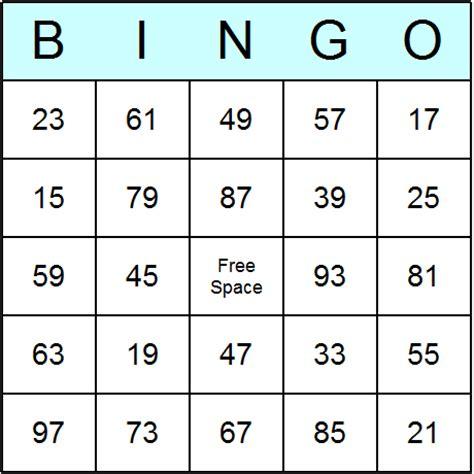 printable number bingo cards 1 100 printable 100 template new calendar template site