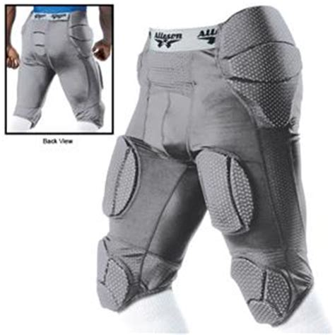 youth experiences with girdles alleson adult integrated football system girdle co