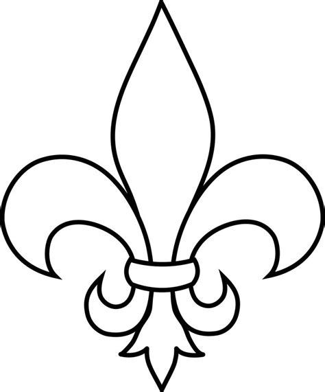 Scout Logo Outline by Best 25 Fleur De Lis Ideas On Fleur De Lis