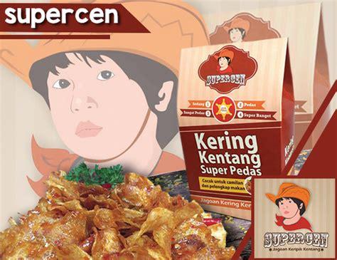 Kering Kentang Supercen restoran oleh oleh kulineran katalog kuliner